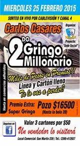 """Bingo """"El Gringo"""""""