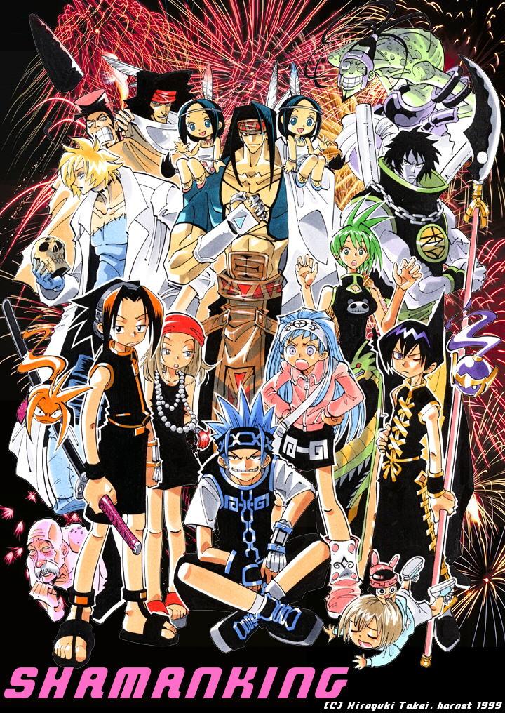 Shaman King - Vua Pháp Thuật 2002 Poster