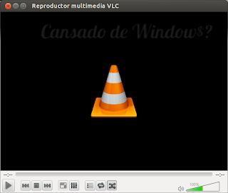Imagen 1, visualización del VLC