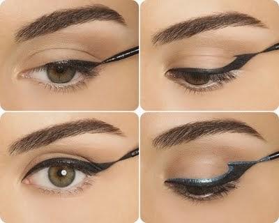 10 bellesalud 8 diferentes formas de delinear nuestros for Distintas formas de maquillarse los ojos