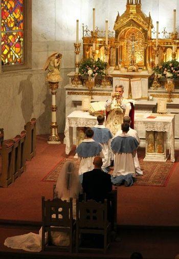 Matrimonio Catolico Tradicional : Acción litúrgica boda tradicional en wisconsin