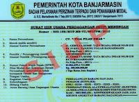 contoh surat izin usaha perdagangan SIUP