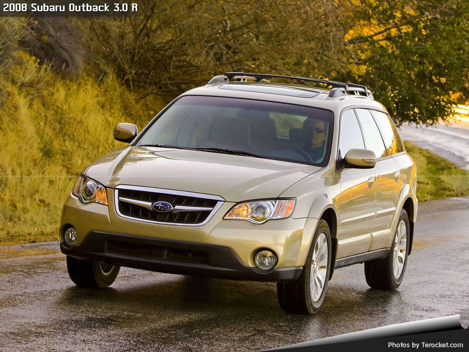 Hình ảnh xe ô tô Subaru Outback 3.0 R 2008 & nội ngoại thất