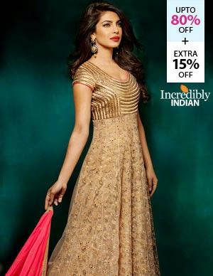 Fashionandyou Cine Inspired Anarkalis offer, upto 67% off + Extra 15% off