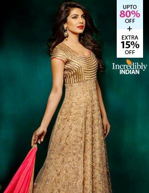 Fashionandyou Cine Inspired Anarkalis offer, upto 67% off + Extra 15% off