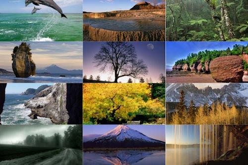 Los colores de nuestro planeta VIII (12 paisajes)