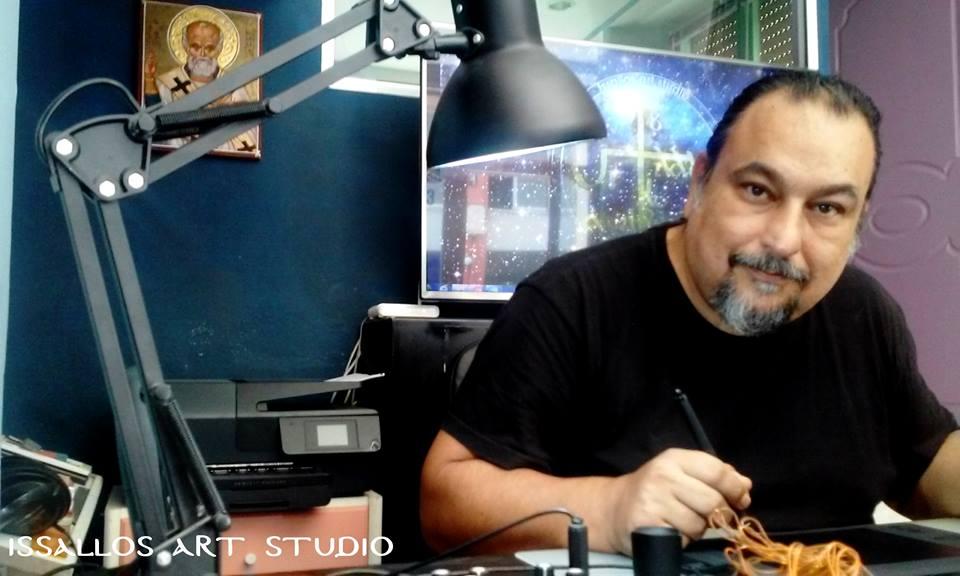 web-εργαστηρι ζωγραφικής αγιογραφίας του Νικολάου Ανδρικάκη