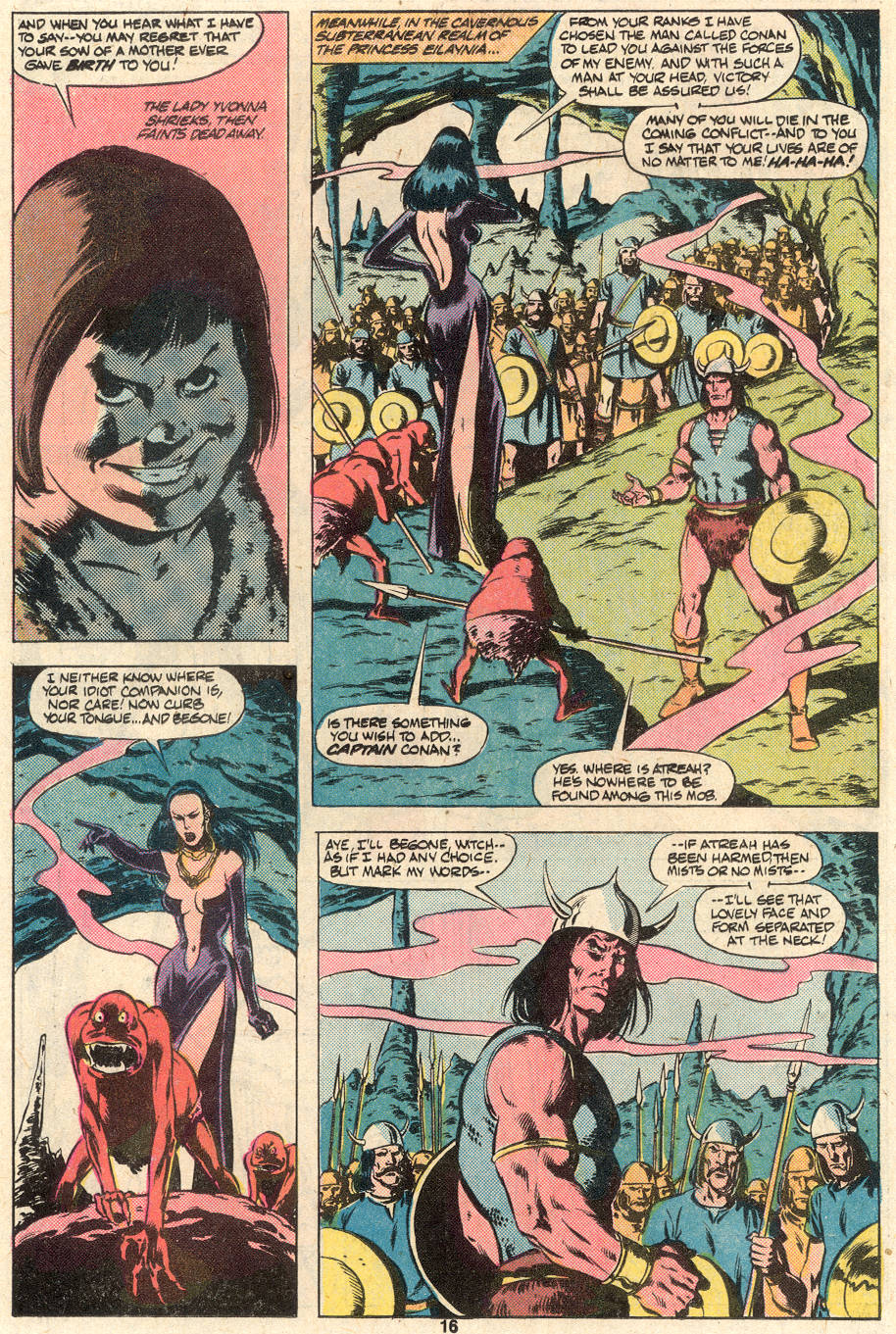 Conan the Barbarian (1970) Issue #124 #136 - English 13