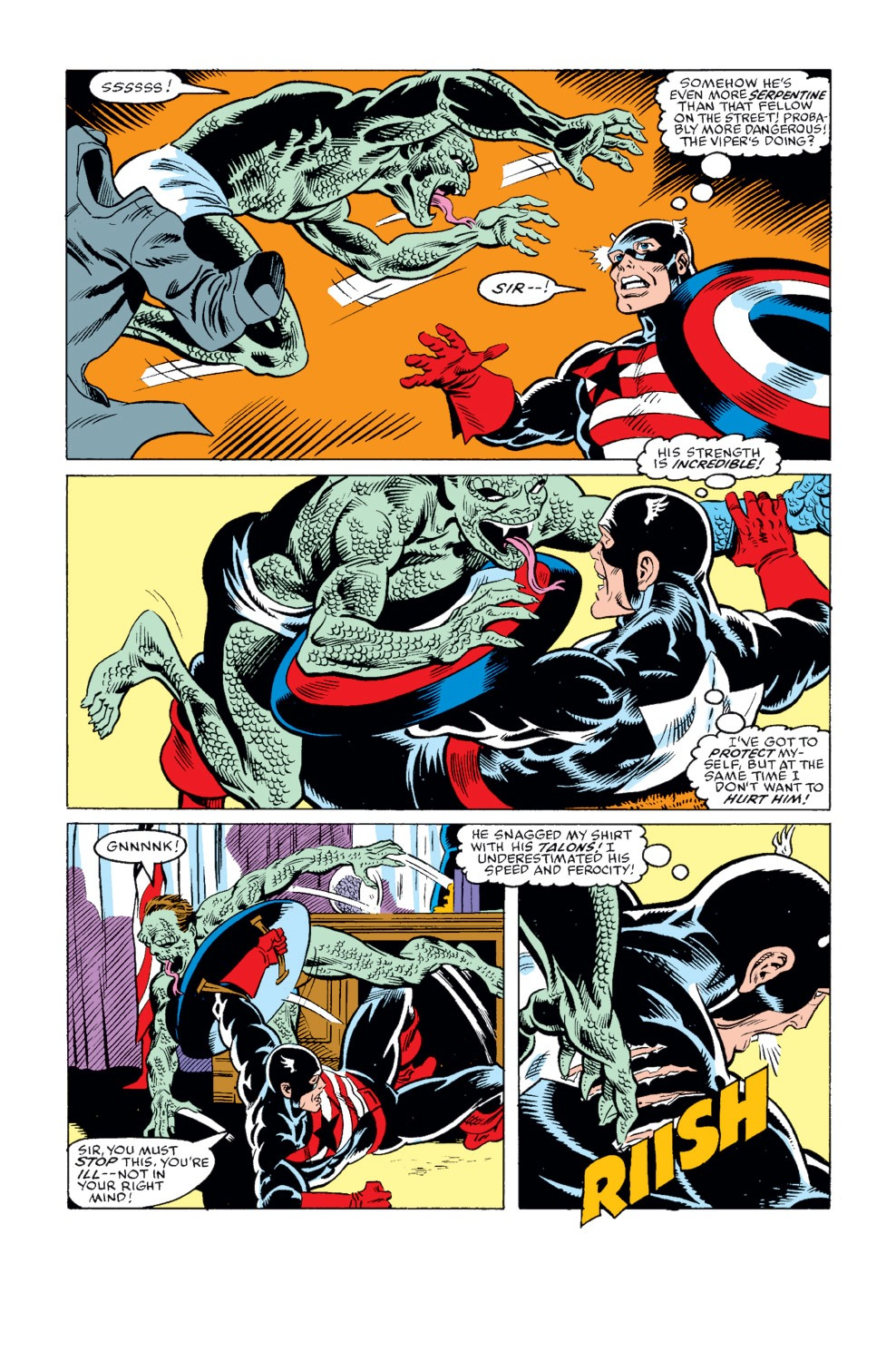 Captain America (1968) Issue #344 #274 - English 32