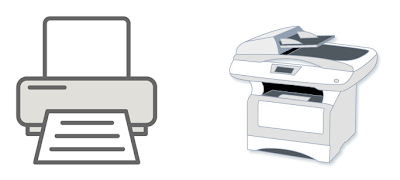Простой или многофункциональный принтер