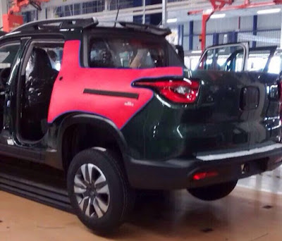 Fiat Toro 2016 fotos pick up Brasil