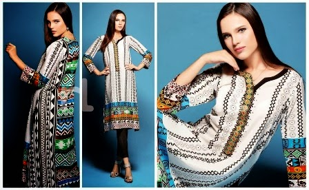 Tribal Fusion Lawn Dresses 2014-2015