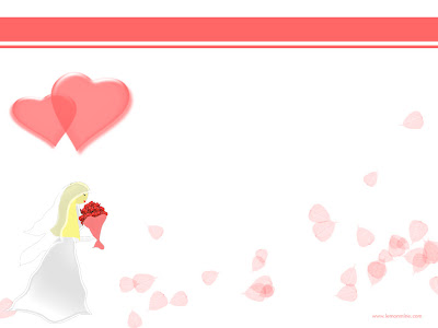 Free Royal Wedding PowerPoint Background 6