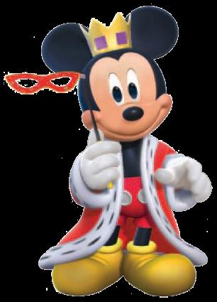 Mickey disfrazado para carnaval
