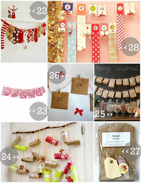creative ways to countdown to christmas