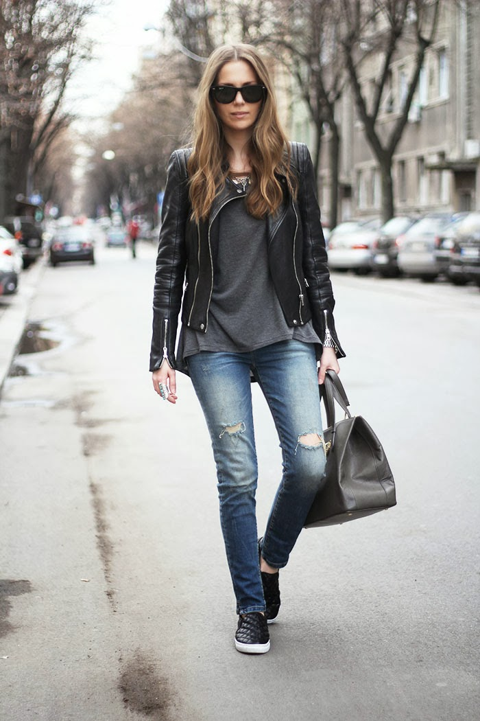 Fashion And Style Distressed