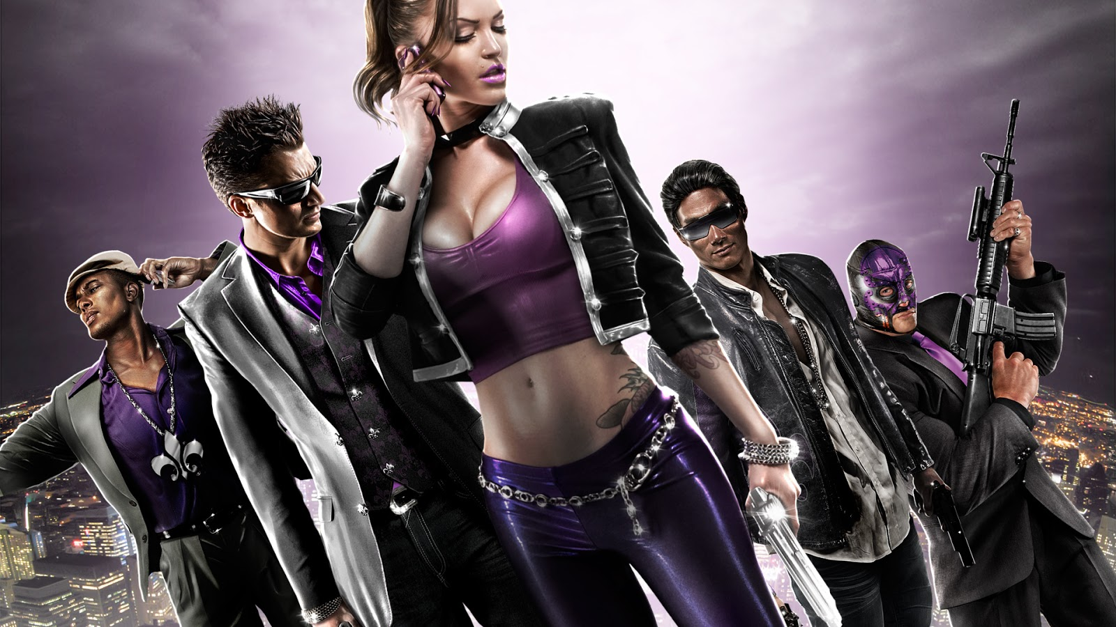 Saint's Row 4 T-shirts, jackets, hoodies coming soon