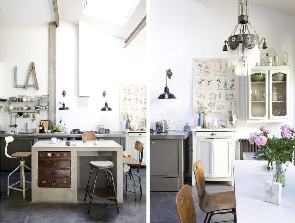 Industrial chic home shabby home arredamento interior for Arredamento industrial chic