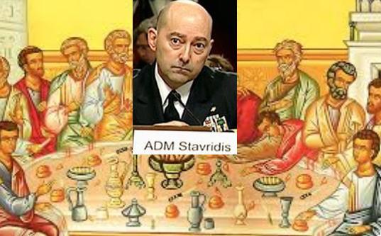 Μυστικό δείπνο με το γεράκι των ΗΠΑ James Stavridis οι Α.Σαμαράς και Κ.Καραμανλής!
