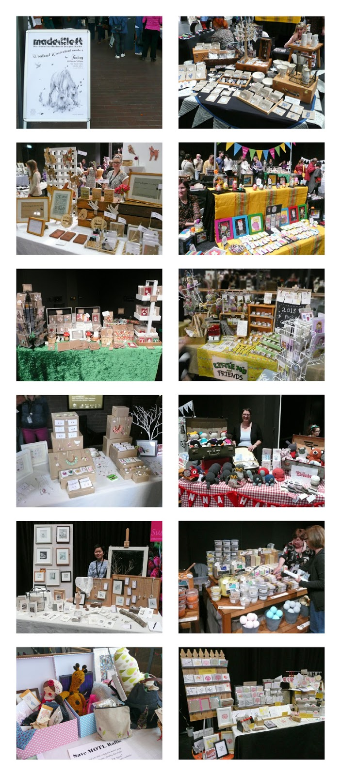 Made on the left woodland wonderland market for Made in the south craft shows