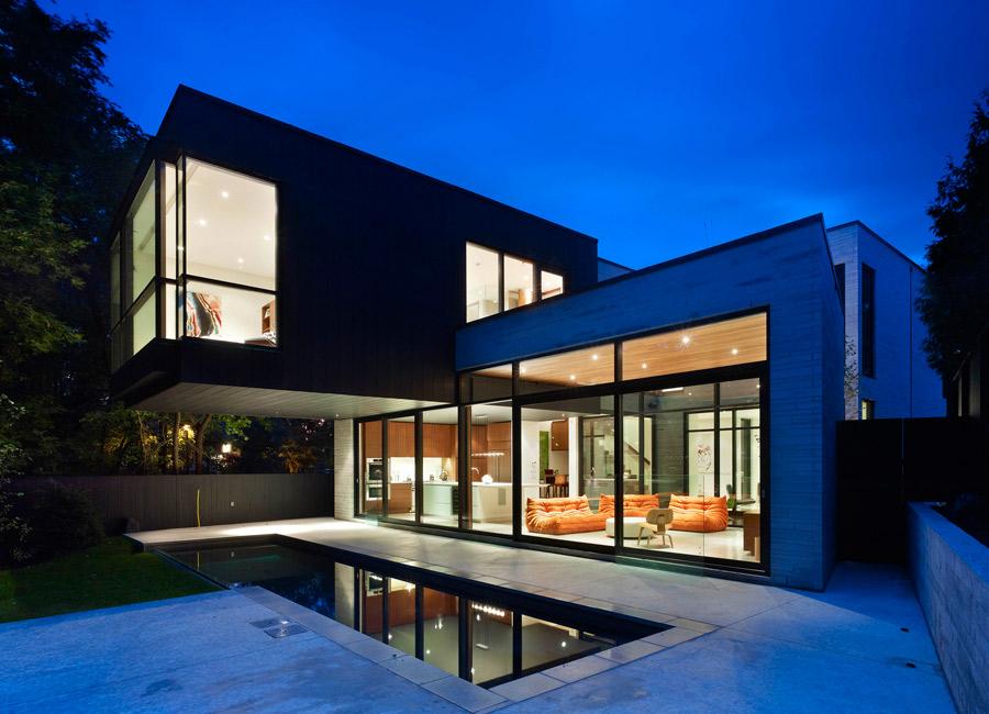 Stunning cedarvale ravine house in toronto inspiring for Ravine house architecture design