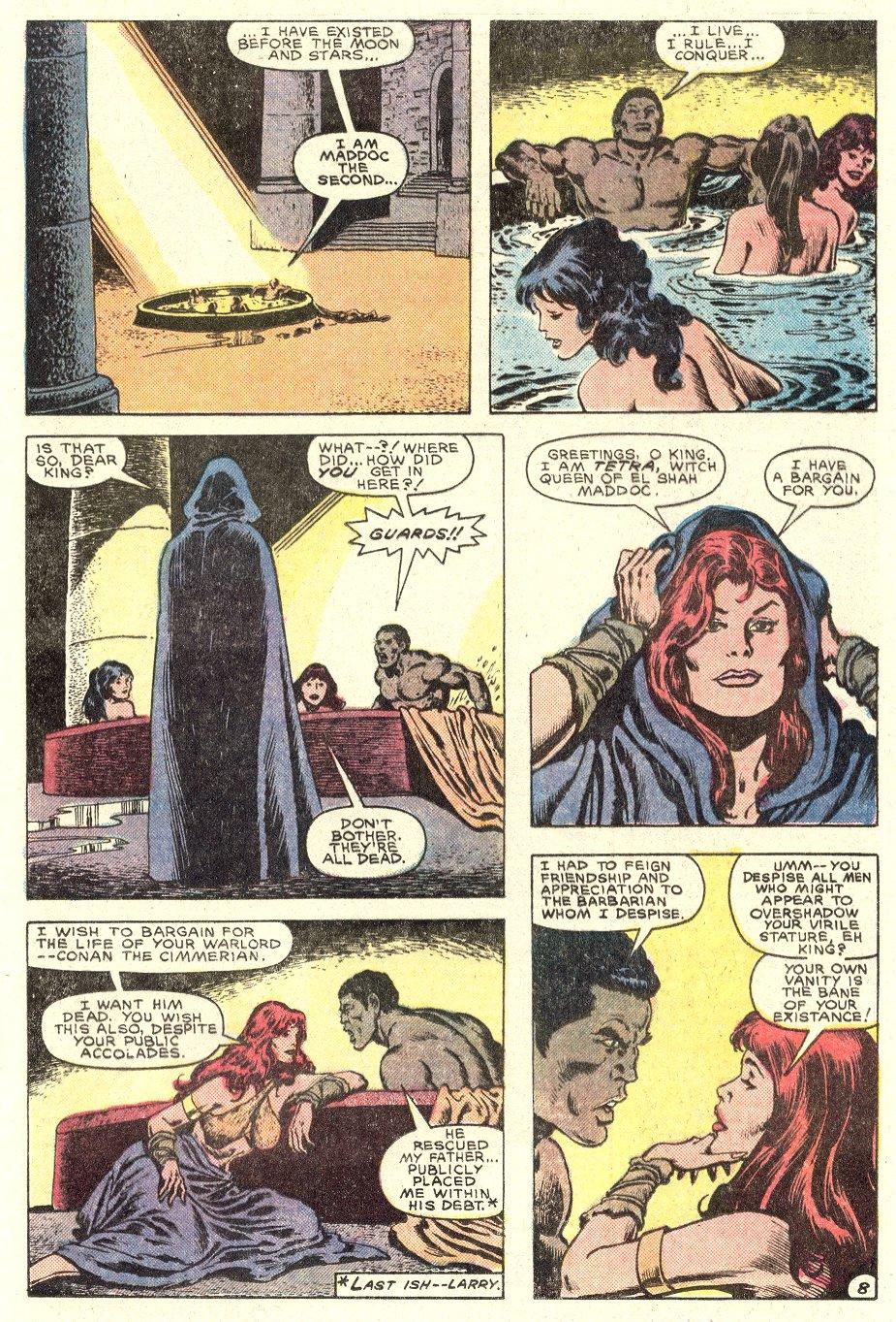 Conan the Barbarian (1970) Issue #182 #194 - English 9