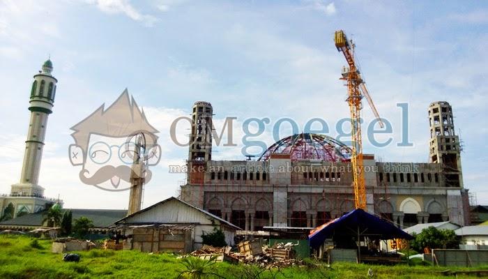 Pembangunan Masjid Raya Mujahidin Pontianak