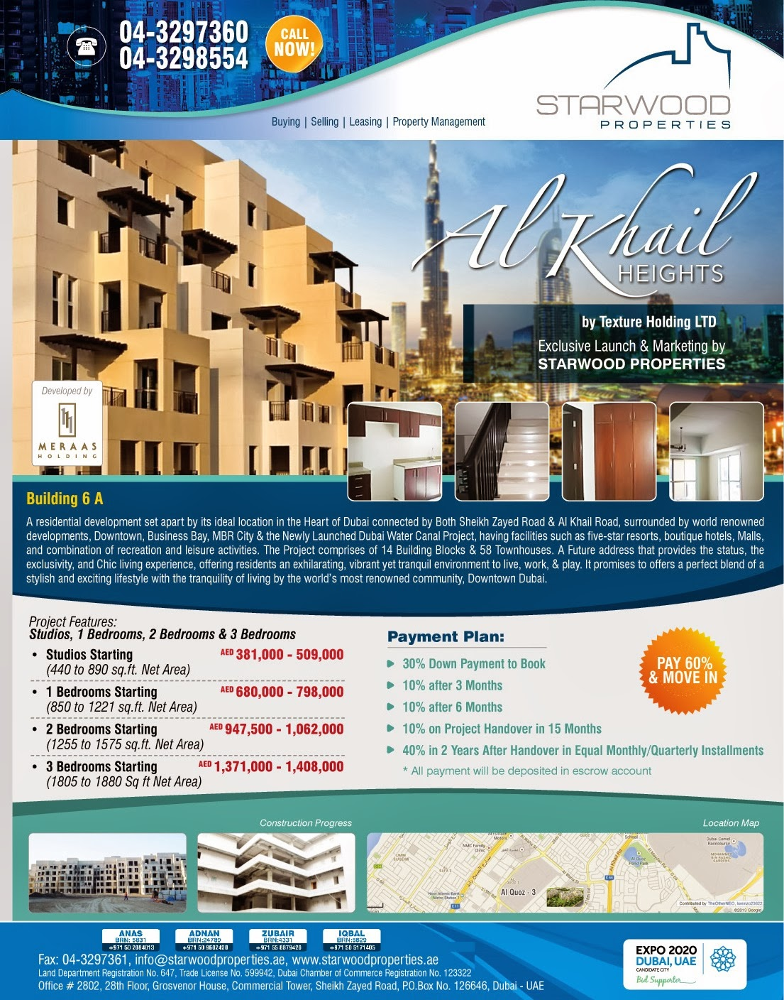 Apartment Plans Dubai
