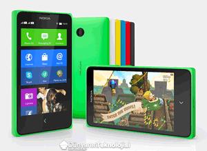 Nokia X özellikler