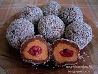 Karácsonyi sütés nélküli sütemény - Gesztenyés kekszgolyó recept