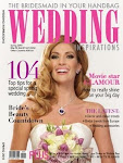 The Bloom Room Bouquet on the cover of wedding inspirations!