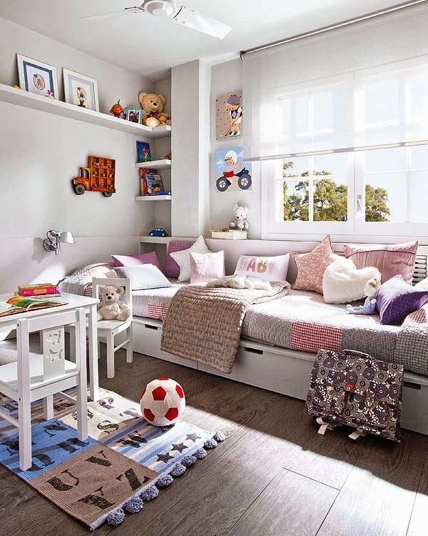 Pastellove: Uniwersalny pokój dla chłopca lub dziewczynki