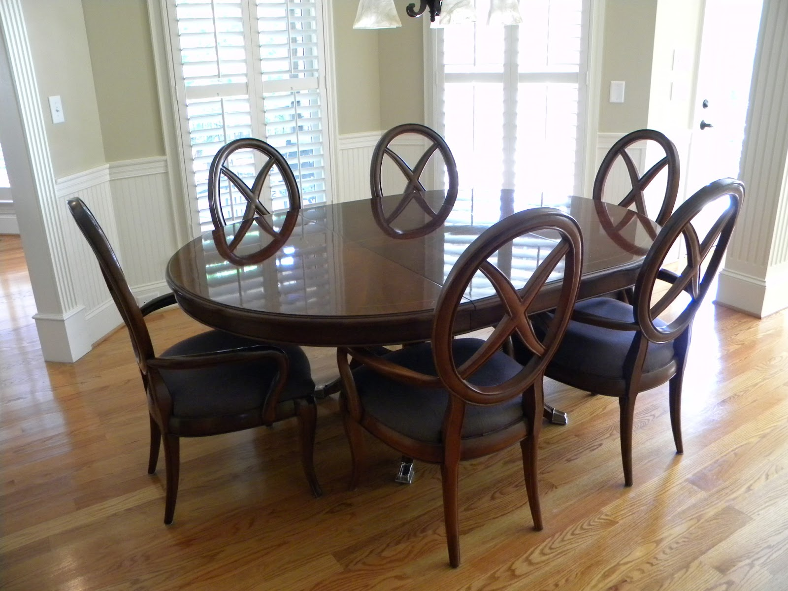 Nice  pristine condition You can get each piece separate to plete your set or by the whole set for We even have dining room table and arm chairs