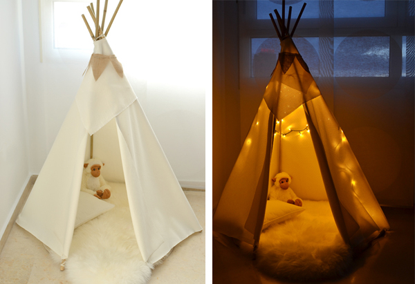 Tipi infantil, un refugio para tus hijos