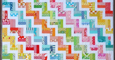 Red Pepper Quilts: Zig Zag Rail Fence Quilt and New Quilt Pattern : zig zag rail fence quilt pattern - Adamdwight.com