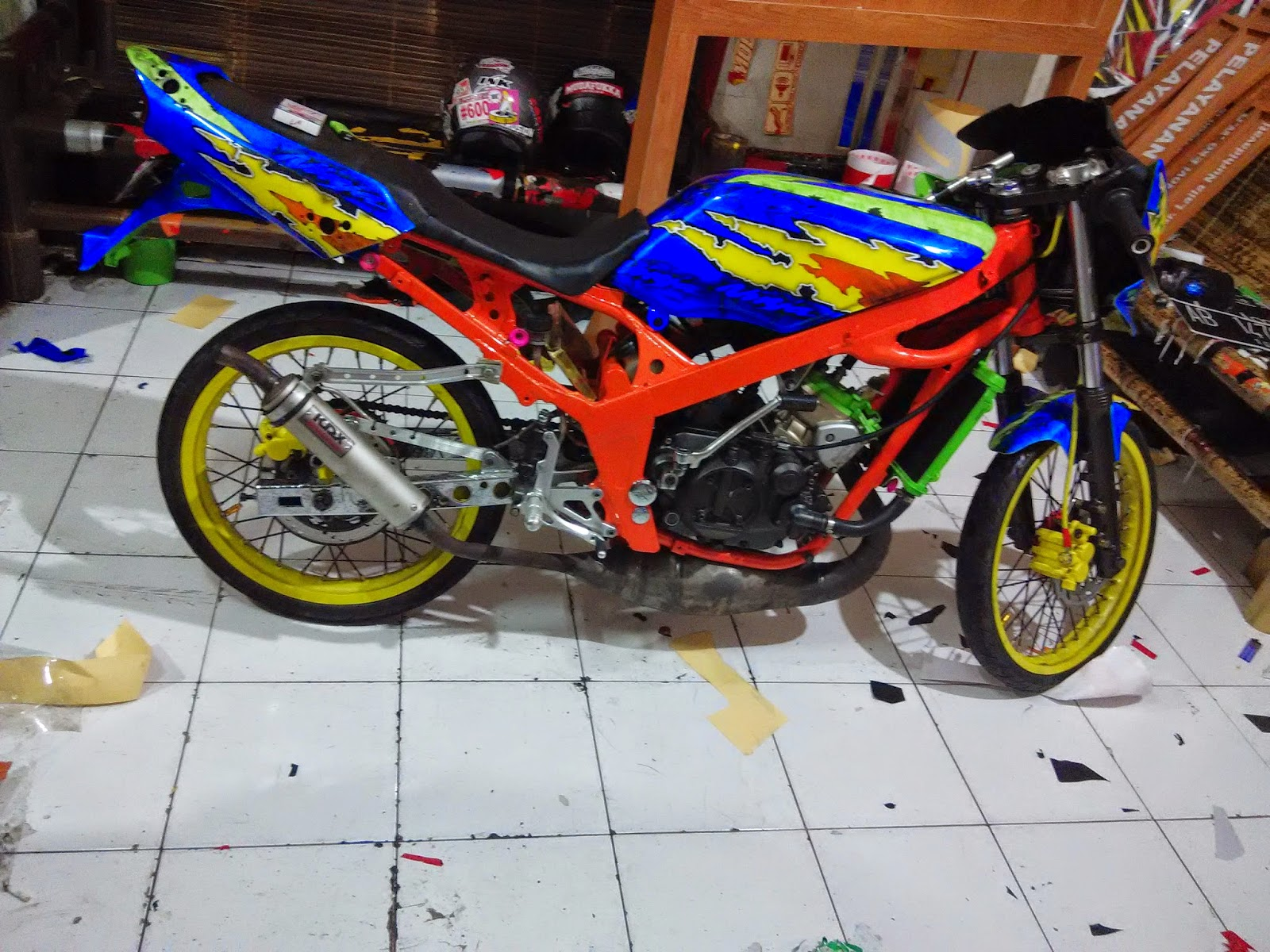 Variasi Warna Motor Jupiter top