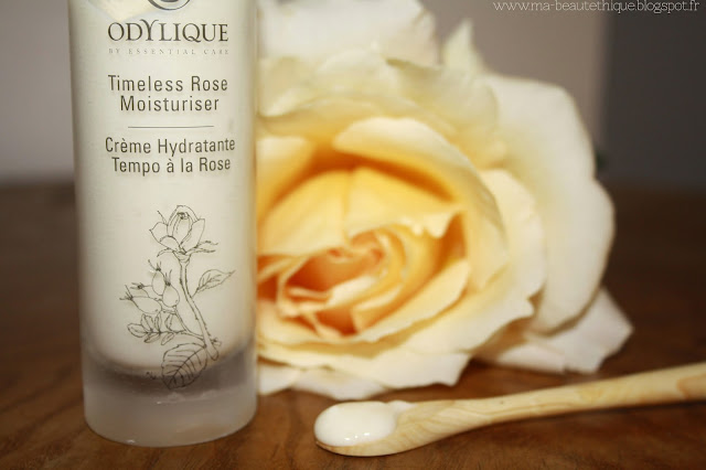 crème hydratante tempo à la rose d'odylique by essential care
