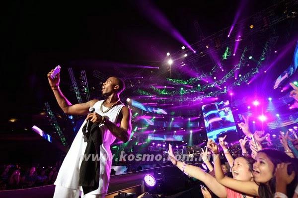 Yuna B o B hangatkan MTV Worldstage 2014