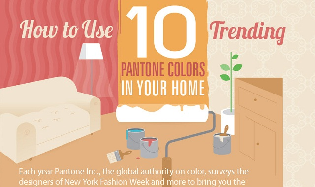 How To Use 10 Trending Pantone Colors In Your Home