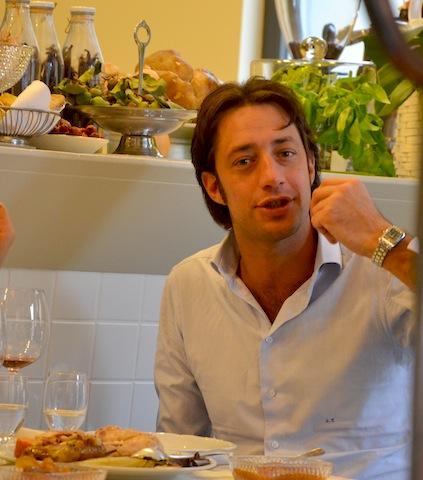 My slow burning life aromando bistrot gallina di domenica for Luigi taglienti chef