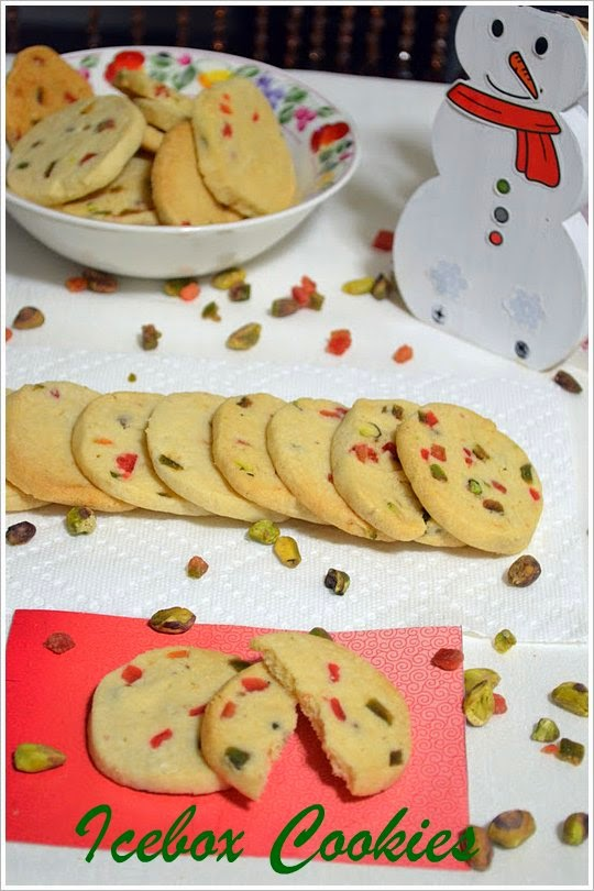Icebox Cookies Nalini Skitchen
