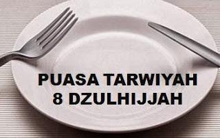 Puasa Tarwiyah 8 Dzulhijjah Sebelum Idul Adha