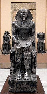 Estatua de Kefrén, Escultura Egipcia, La Escultura Egipcia,