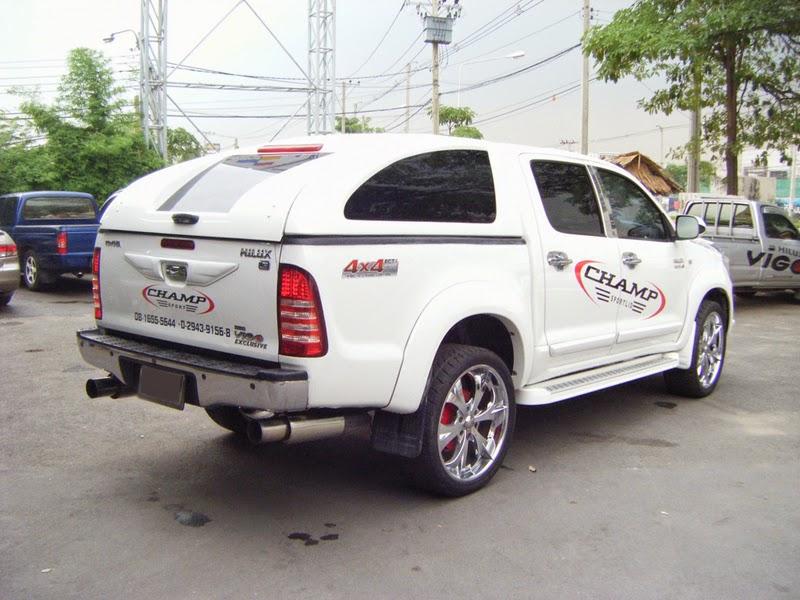 Foto Modifikasi Mobil Toyota Hilux Pick Up Sangar ...