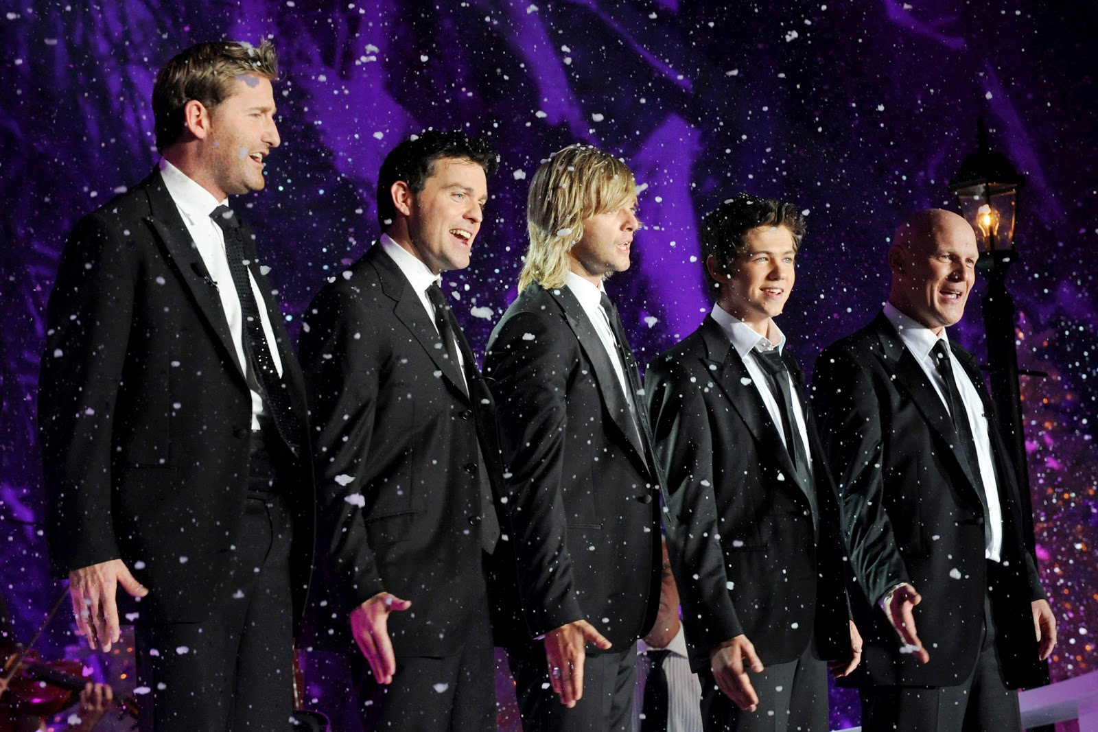 our first christmas together a sweet song written for him by phil coulter is really adorable its snappy cute and is sure to make you smile - Celtic Thunder Christmas