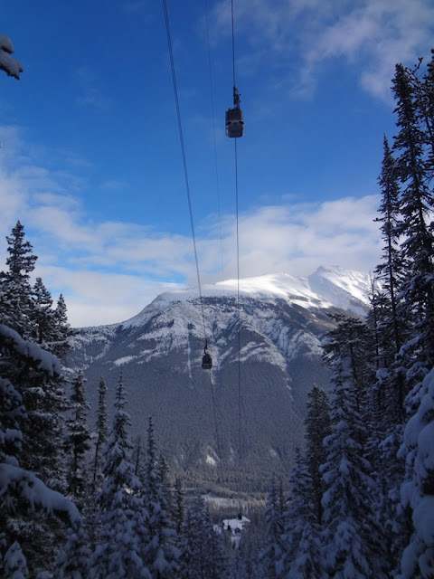 sulphur mountain gondola
