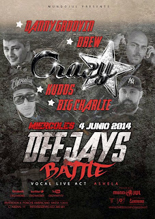 CRAZY en JOY 4 de junio
