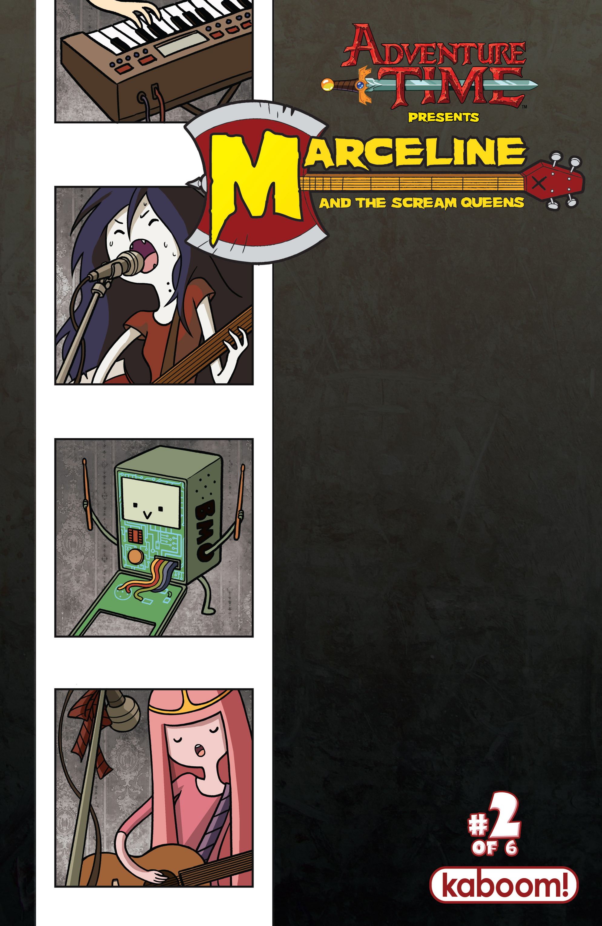 Adventure Time: Marceline and the Scream Queens 2 Page 1