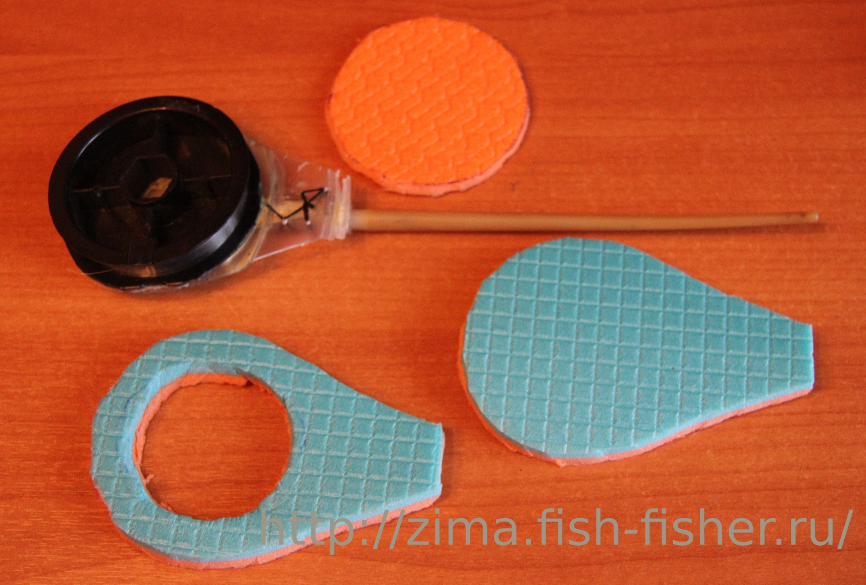 Как сделать самодельную катушку длля рыбалки