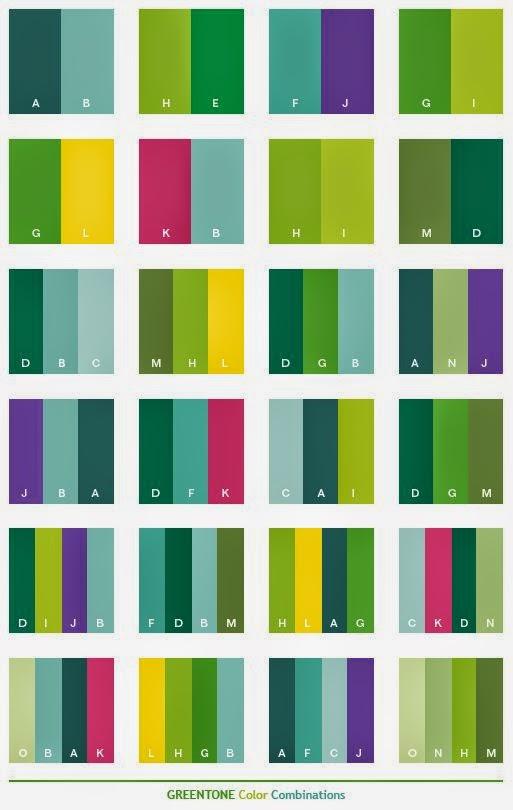 Renk Kombinleri Dekorasyonda Ye Il Tonlar Nas L Kullan L R